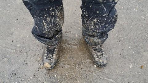Ноги после разведки