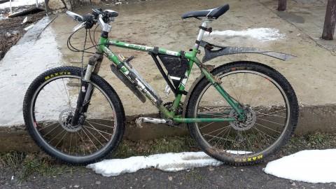 Велосипед после разведки
